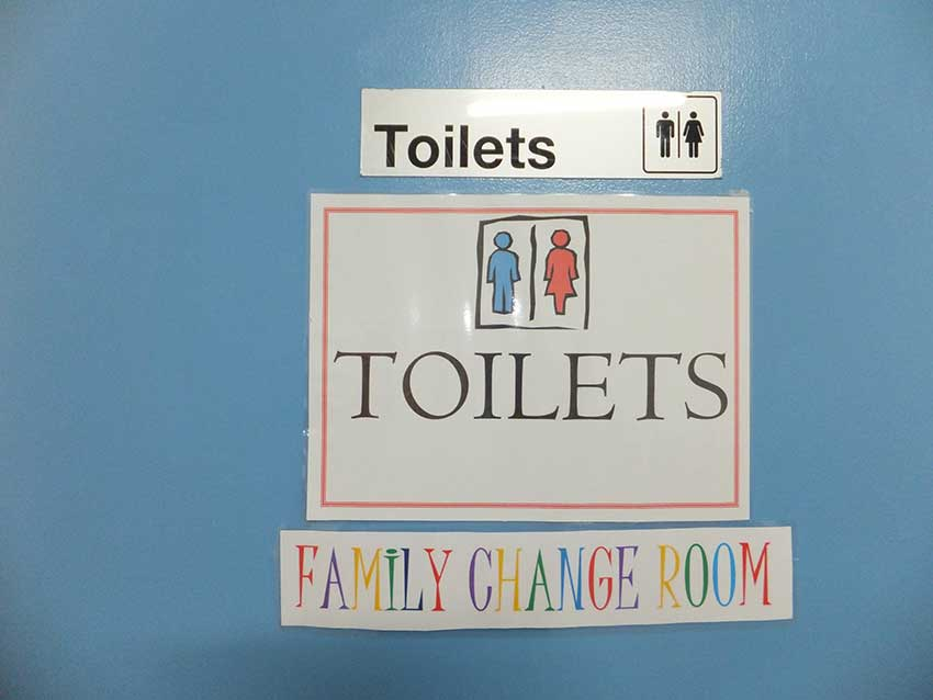 Toilet-access